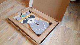 Emballage et expédition des horloges