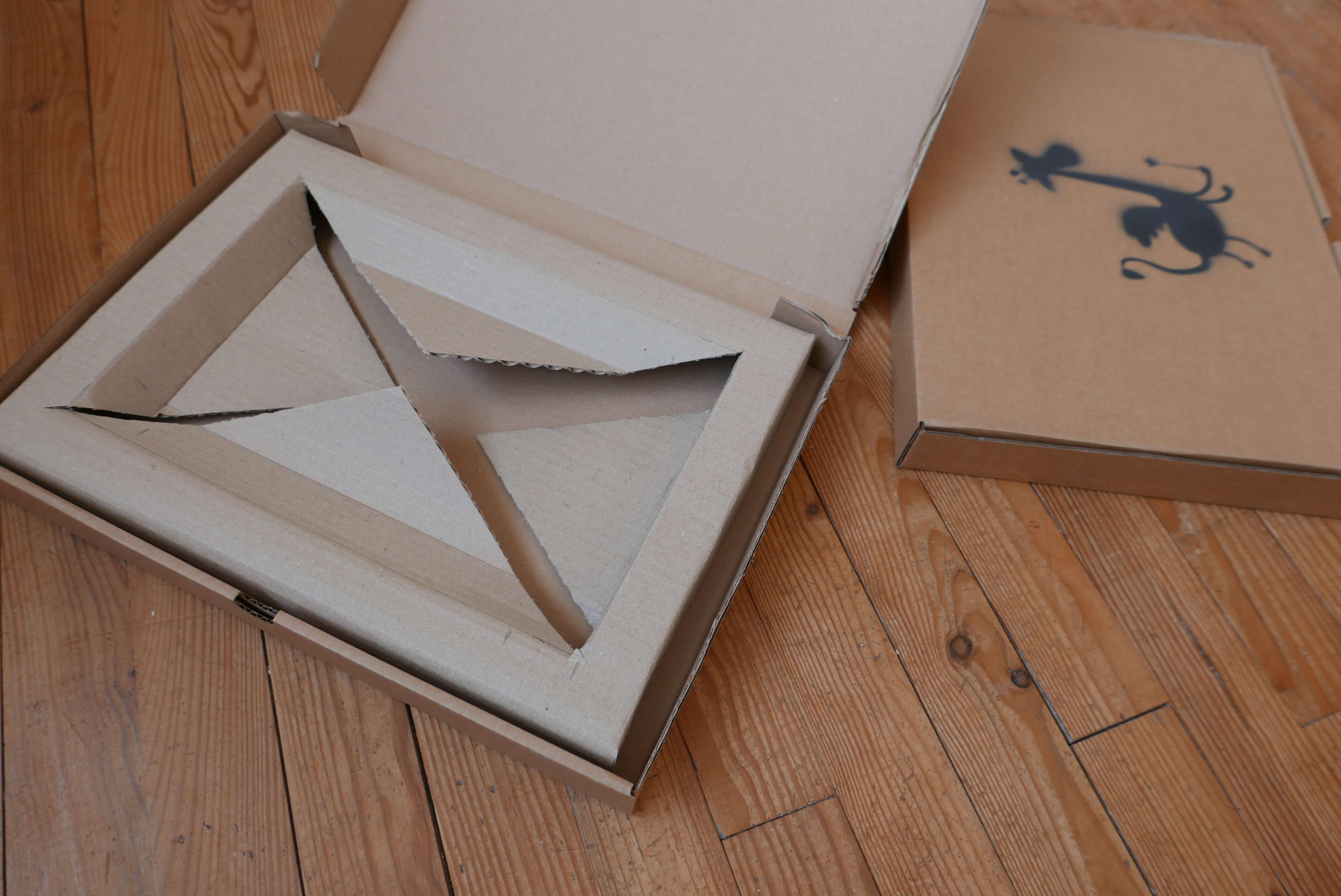 Calage en carton DIY