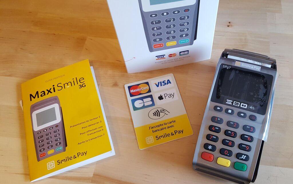Unboxing du Maxismile 3G de chez Smile & Pay