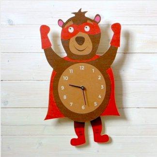 Horloge à balancier Ours