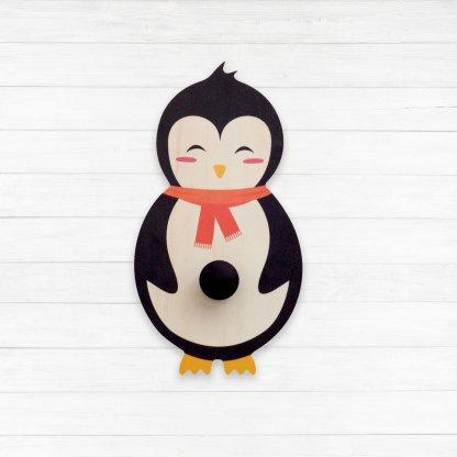 Porte manteau pingouin